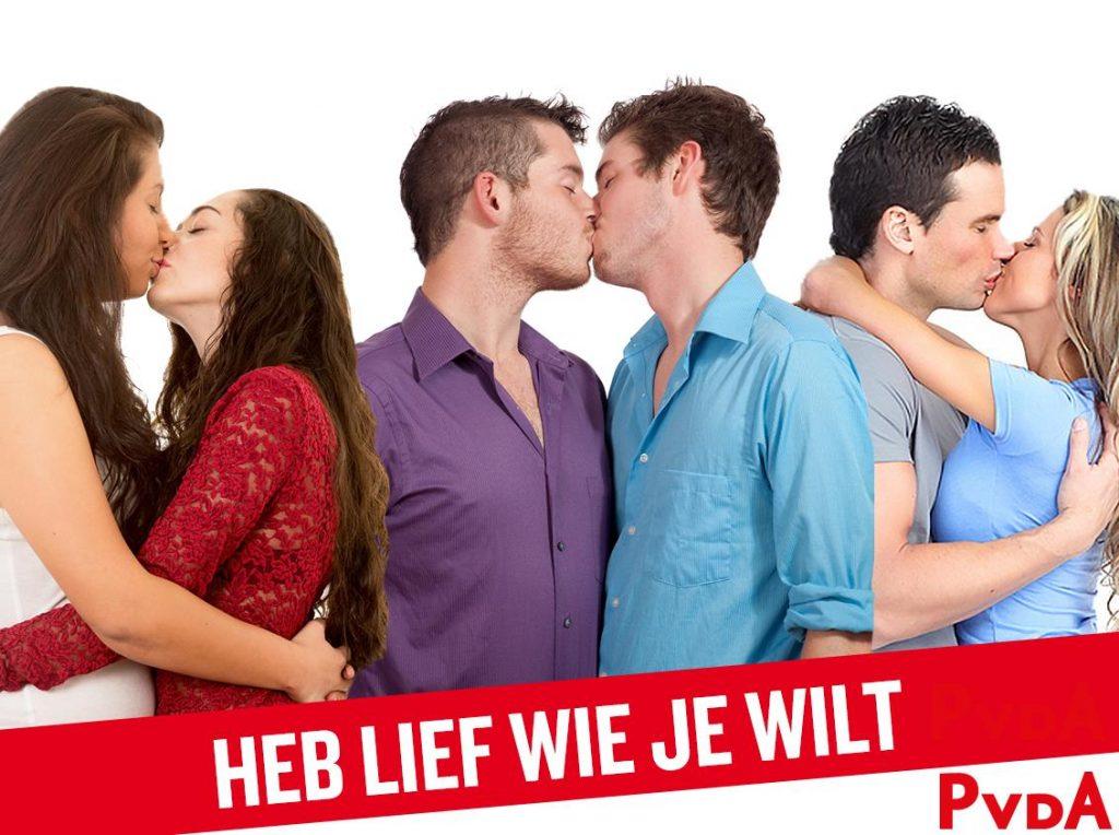 PvdA Heb lief wie je wilt